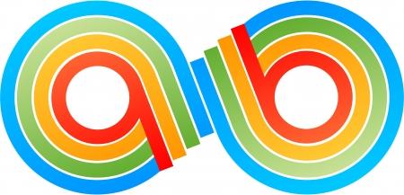 infinity symbols Ilustração