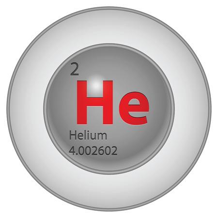 helium button Vector