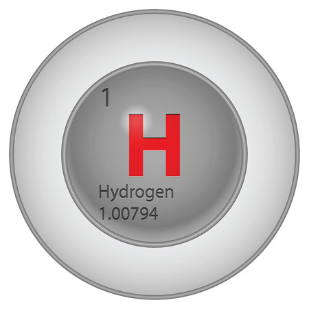hidrogeno: bot�n de hidr�geno Vectores