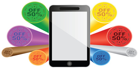 smartphone - fifty percent discount