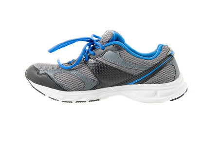 Isolated running shoes on white background Stock Photo
