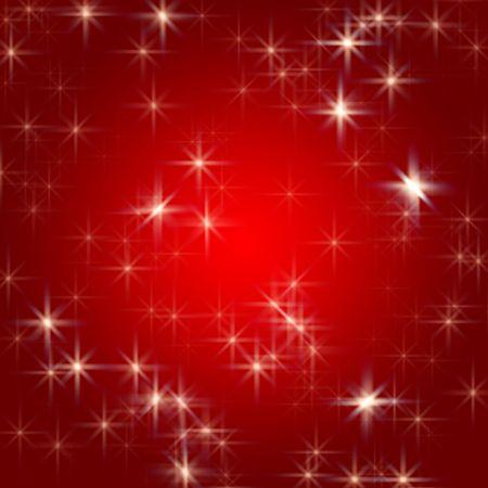 tenderly: stelle bianche su fondo rosso con piuma centro Archivio Fotografico
