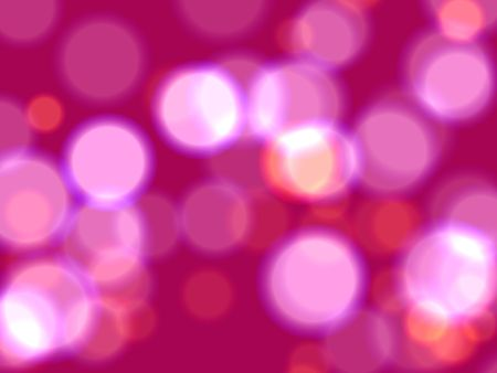 festiveness: pink and yellow lights over pink background