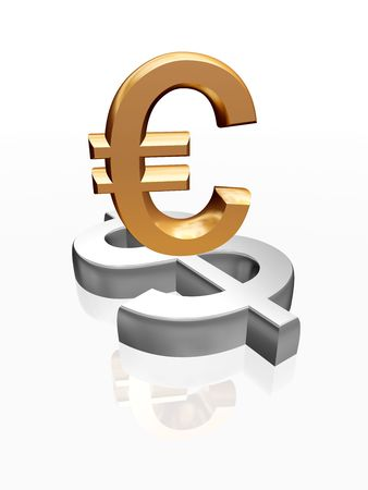 slump: 3d golden signs of euro and dollar