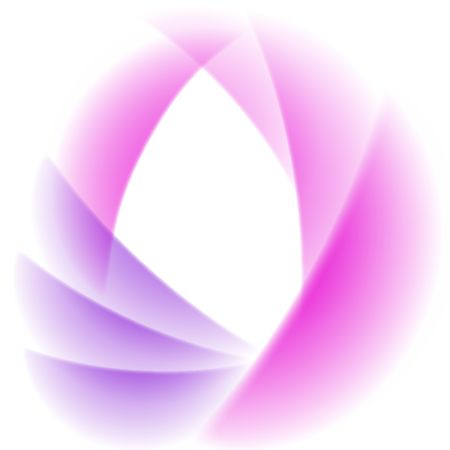abstract stylized pink and violet flower background photo
