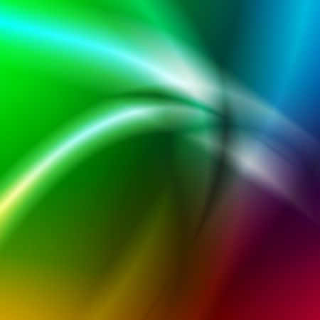abstract light blured lines over rainbow background photo