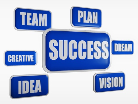 dream vision: Success, team, plan, idea, creative, vision, dream