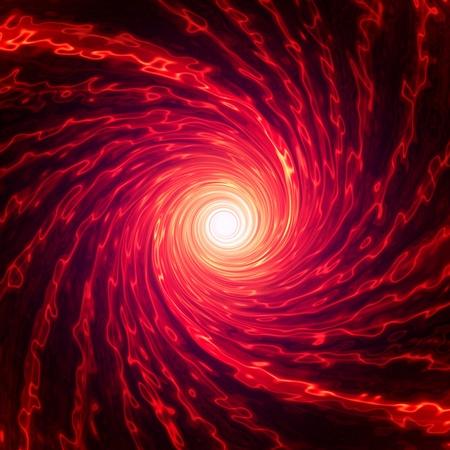 lucero: Abstarct roja en espiral sobre fondo oscuro
