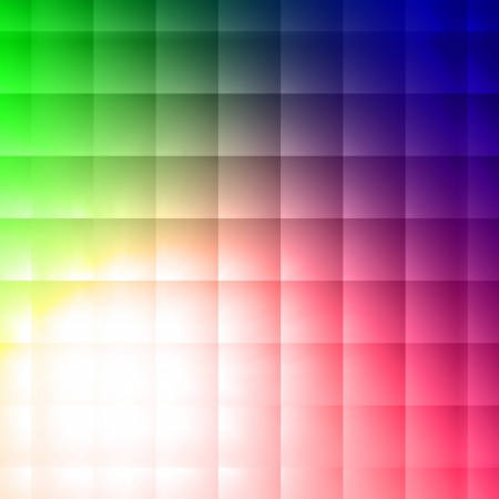 vintage abstract squares shining over colorful  background photo