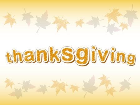 thanksgiving day symbol: astratto sfondo, cornice di foglie di autunno con testo di ringraziamento Archivio Fotografico