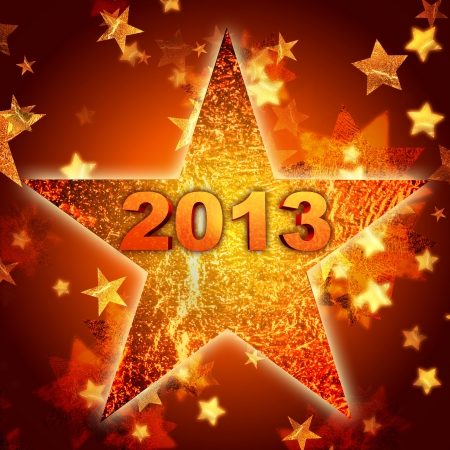 3d golden year 2013 in shining star photo