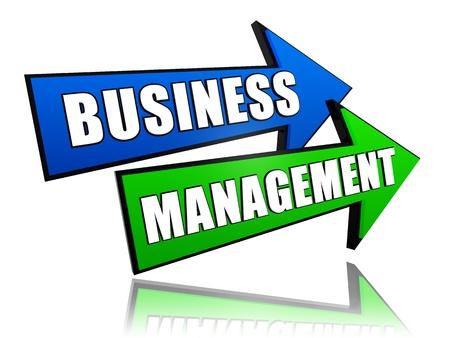 moneymaker: business management - text in 3d arrows, business success concept