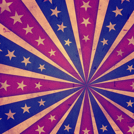 independency: retro american background with stars and rays - USA Independence Day, 4th of July, america holiday concept
