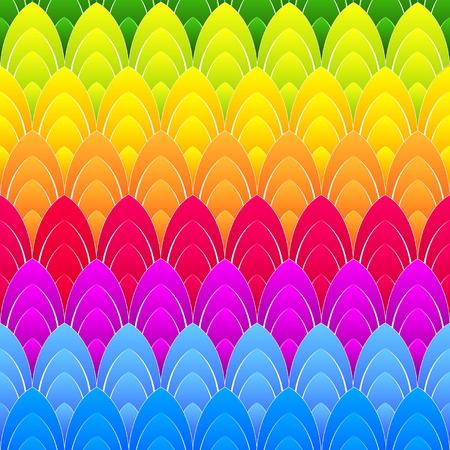 eliptica: resumen de antecedentes con concéntrica del arco iris de colores elipses, vector Vectores