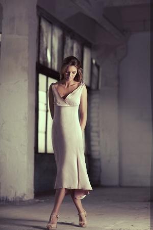 etalon: Beautiful woman near the window
