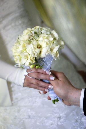 flowers in bouquet photo