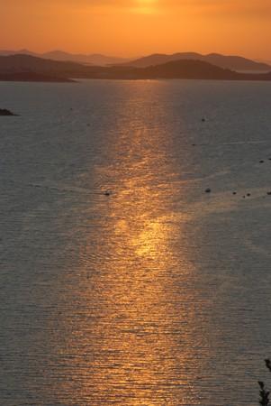 Kornati is a unique island group in the Mediterranean. photo