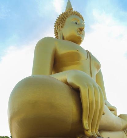thong: Wat Muang, Ang Thong, Thailand. Stock Photo