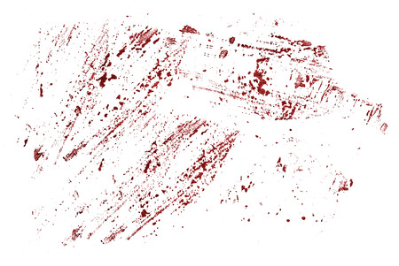 blood splatter: Watercolor stains that look like blood