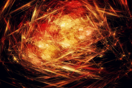 Abstract fractal texture. Visualization  of complex equations. photo