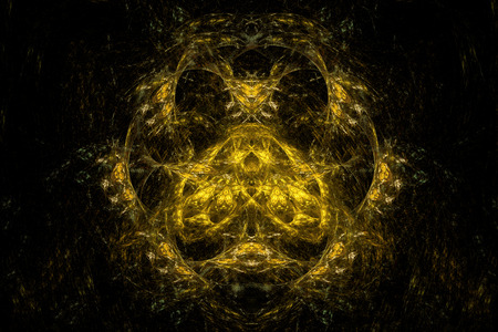 symmetrical: Abstract symmetrical fractal texture. Visualization of complex equations.