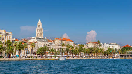 Split city, Croatia. Region of Dalmatia.