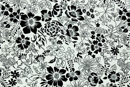Floral vintage wallpaper background  Standard-Bild