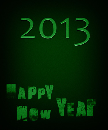 New Year card for 2013 photo