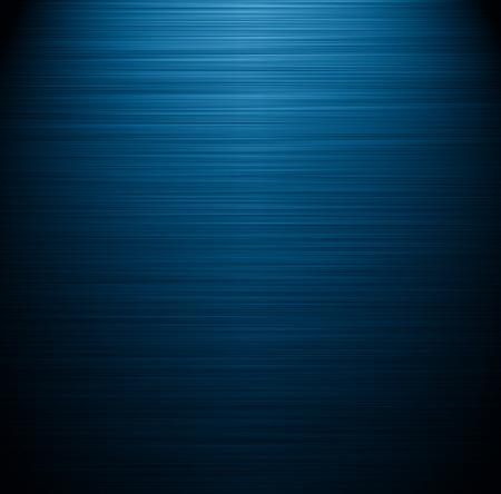 brushed aluminum background: blue texture