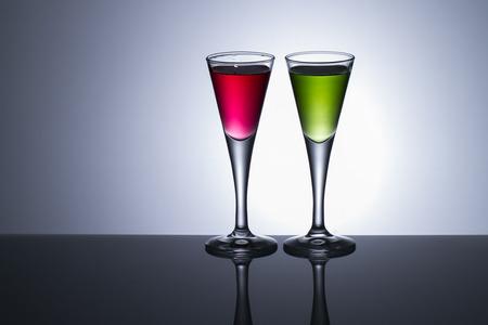 longdrink: colours drinks