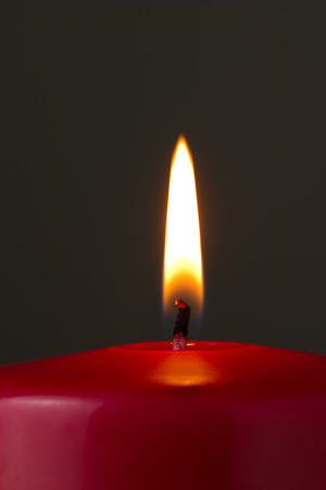 red candle photo