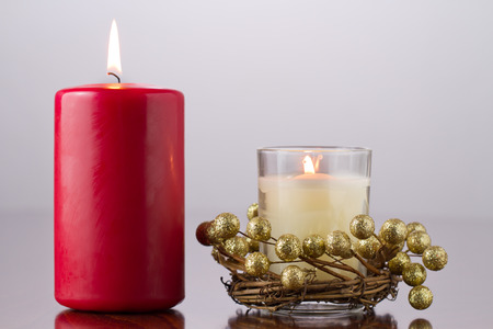 burning candles photo