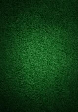 緑の革の質感