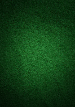 leather texture green Stock Photo