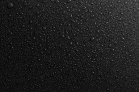 water drops bakground black photo