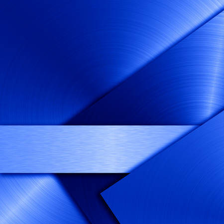 blue abstract photo