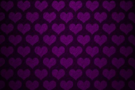 lila: hearts background Stock Photo
