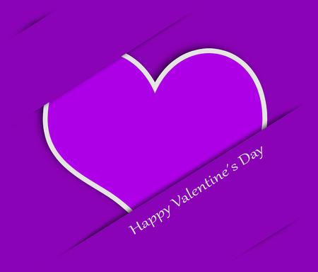 lila: valentines card