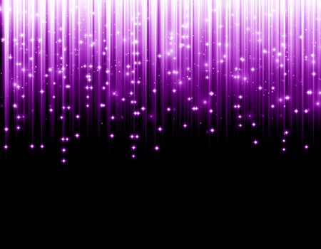 purple stars: christmas background purple Stock Photo