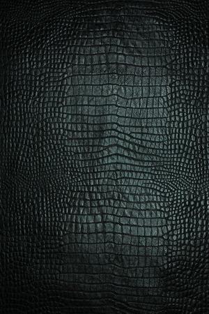 Leather texture black background,crocodile leather