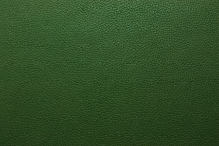 tooled leather: Green leather texture to background Stock Photo