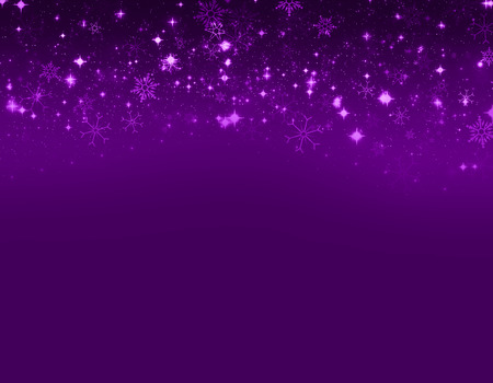 estrellas moradas: Temporada de Navidad aislado sobre fondo morado
