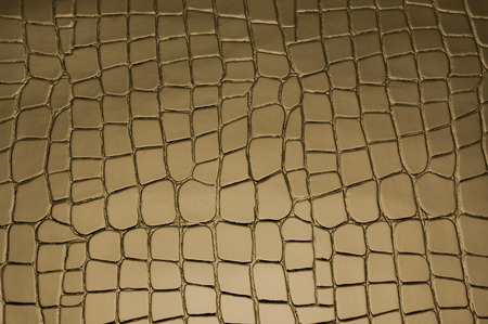 Brown background with crocodile skin pattern photo