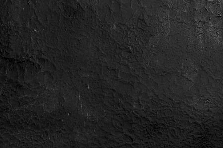 mur noir: black wall cracked Banque d'images