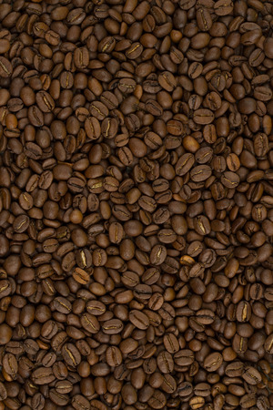 non alcoholic beverage: roasted coffee beans, can be used as a background