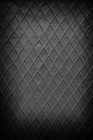 Cuir noir rembourrage texture Banque d'images - 40240573
