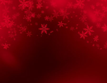 red background: Christmas background red