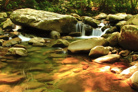 great smoky mountains national park: Tennessee Cascades