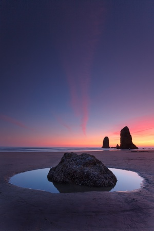 Sunset  - cannon beach photo