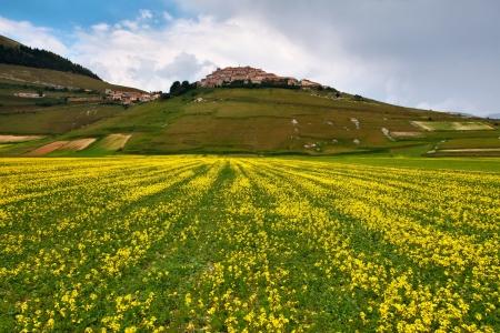 fantastic view: Fantastic view of Castelluccio di Norcia